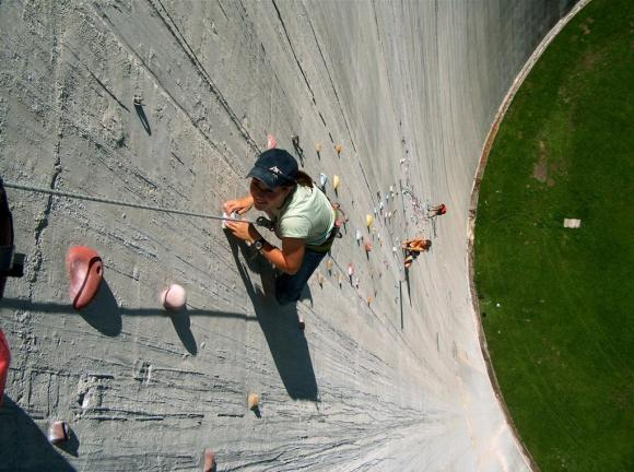 Represa Luzzone - Parede de escalada - Suíça (15)