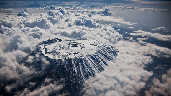 mount-kilimanjaro-from-an-airplane-snow-covered