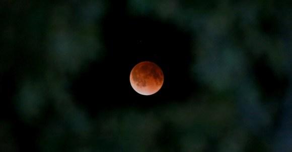 Lua vermelha - Lua de sangue - eclipse da lua (2)