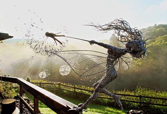Esculturas fantásticas - contos de fada (8)