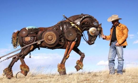 esculturas animais de sucata (10)