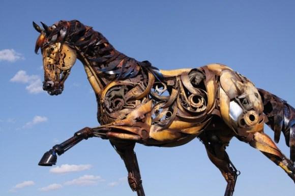 esculturas animais de sucata (9)