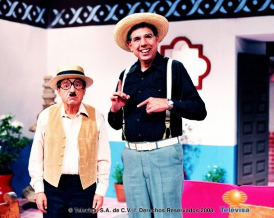 Fotos raras - Chaves e Chapolin (19)