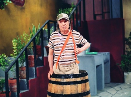 Fotos raras - Chaves e Chapolin (24)