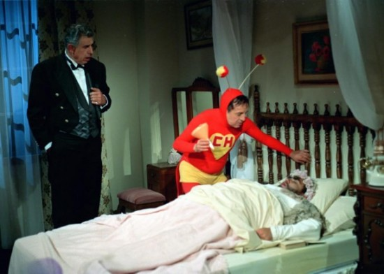 Fotos raras - Chaves e Chapolin (30)