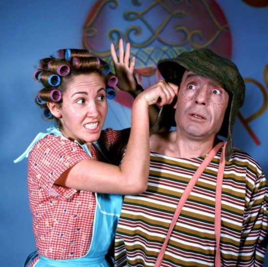 Fotos raras - Chaves e Chapolin (6)