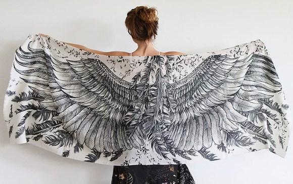 lenço pássaros 7