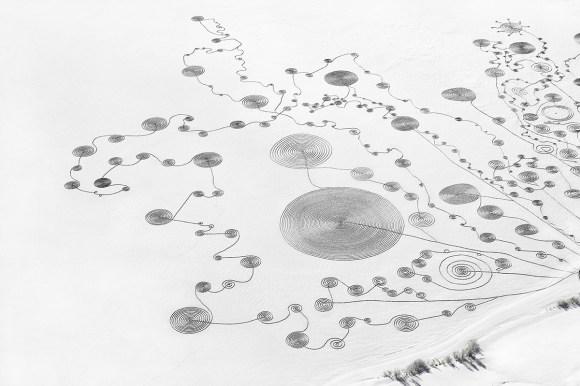 Desenho na neve 9