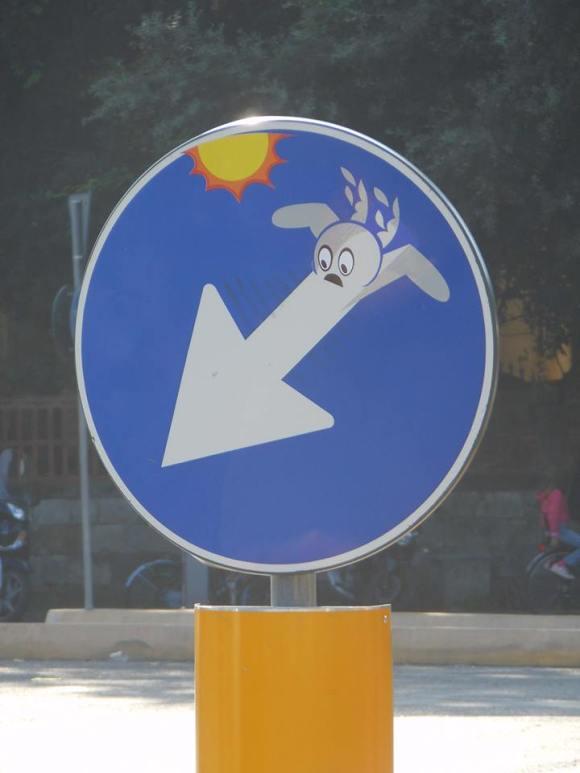Street art - clet - 16