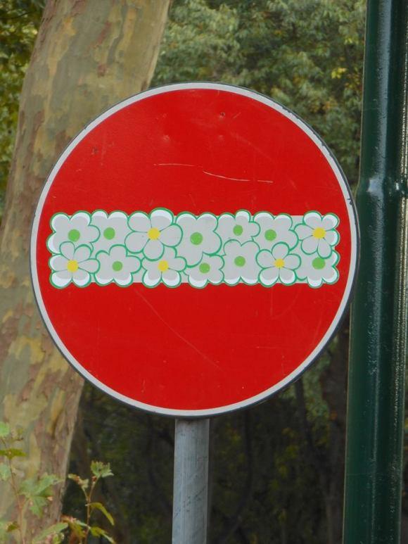 Street art - clet - 17