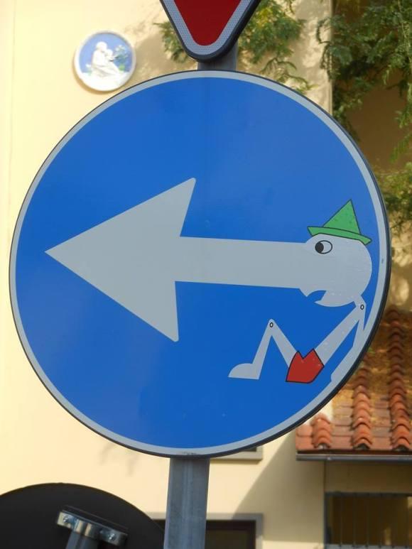 Street art - clet - 18