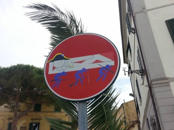 Street art - clet - 8
