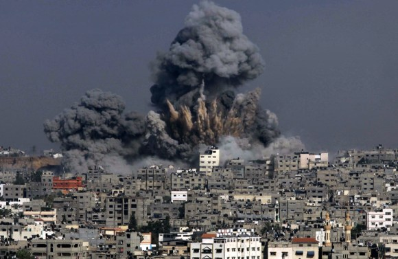 """TOPSHOTS 2014-PALESTINIAN-ISRAEL-CONFLICT-GAZA"""