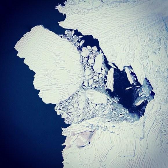 Antártida - Fotos aéreas