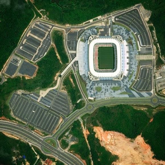 Arena Pernambuco - Brasil - Fotos aéreas