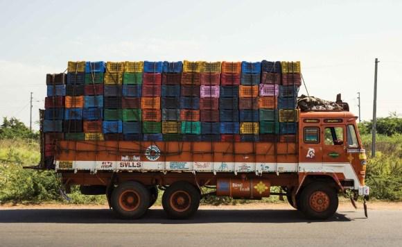 Caminhões decorados da Índia - 1