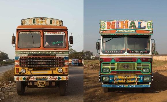 Caminhões decorados da Índia - 10