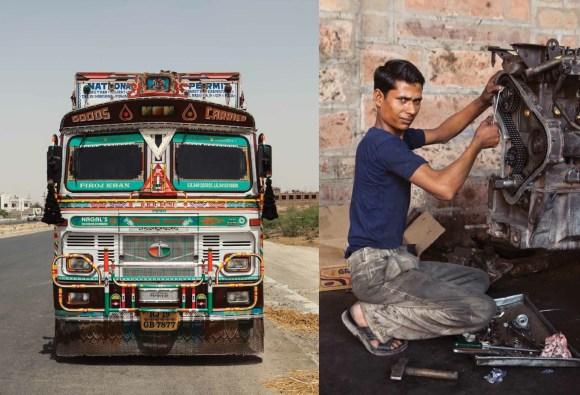 Caminhões decorados da Índia - 11