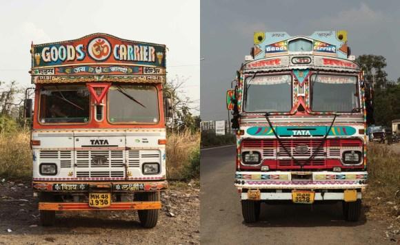 Caminhões decorados da Índia - 13