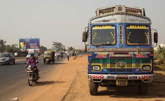 Caminhões decorados da Índia - 18