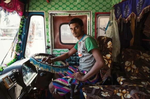 Caminhões decorados da Índia - 2