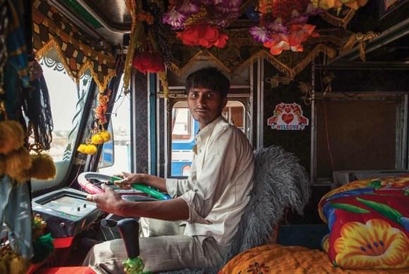 Caminhões decorados da Índia - 5