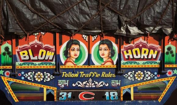 Caminhões decorados da Índia - 7