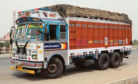 Caminhões decorados da Índia - 9