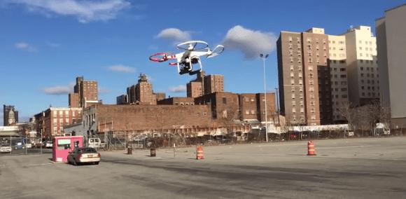 Drone em Nova York 3