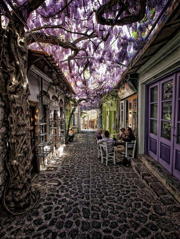 Ruas mais bonitas do mundo - 04 - Lesbos - Grécia