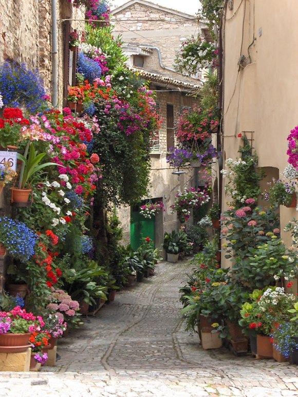 Ruas mais bonitas do mundo - 11 - Spello - Itália