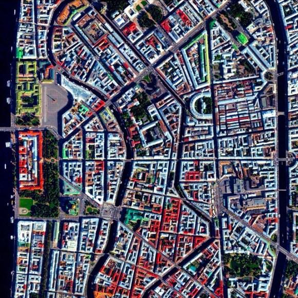 São Petersburg - Rússia - Fotos aéreas