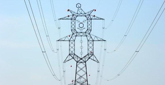 6 ideias para tornar as torres de energia mais criativas