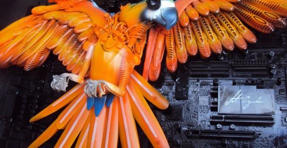 Artista brasileiro transforma lixo em incríveis esculturas de animais
