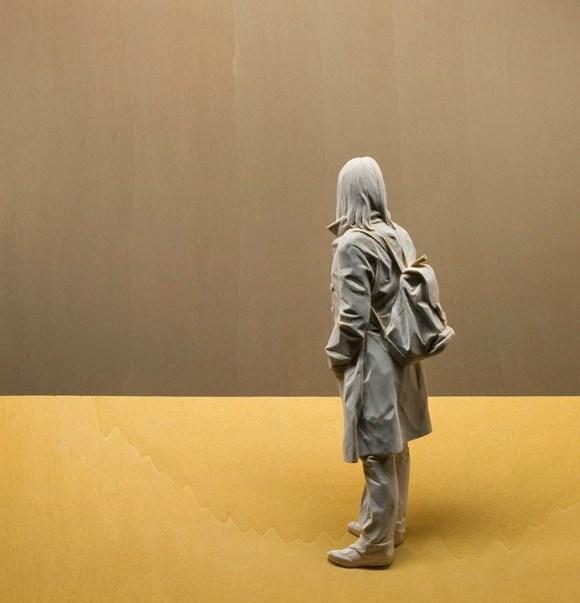 Esculturas hiper-realistas em madeira - PeterDemetz 13