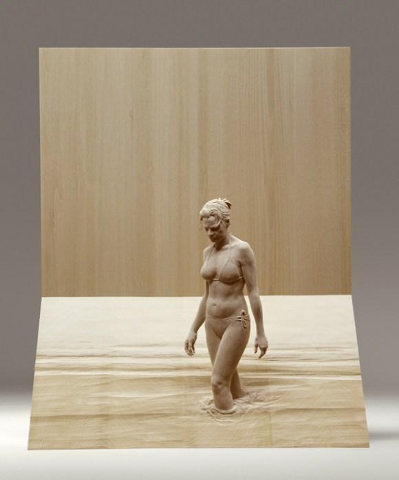 Esculturas hiper-realistas em madeira - PeterDemetz 7