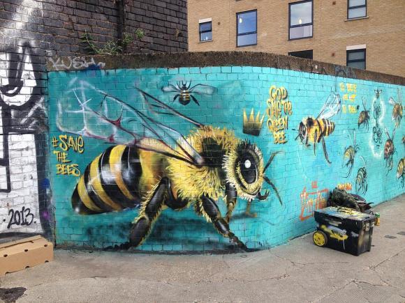 Grafite abelhas 2