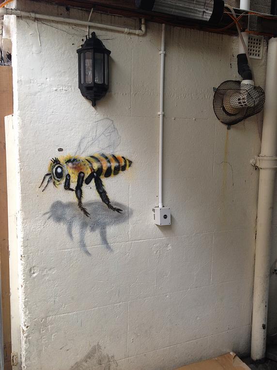 Grafite abelhas 8