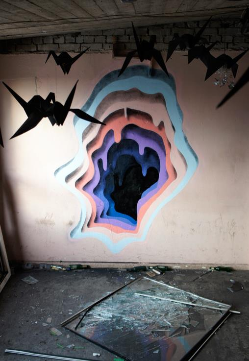 Grafite - buraco 3D 7