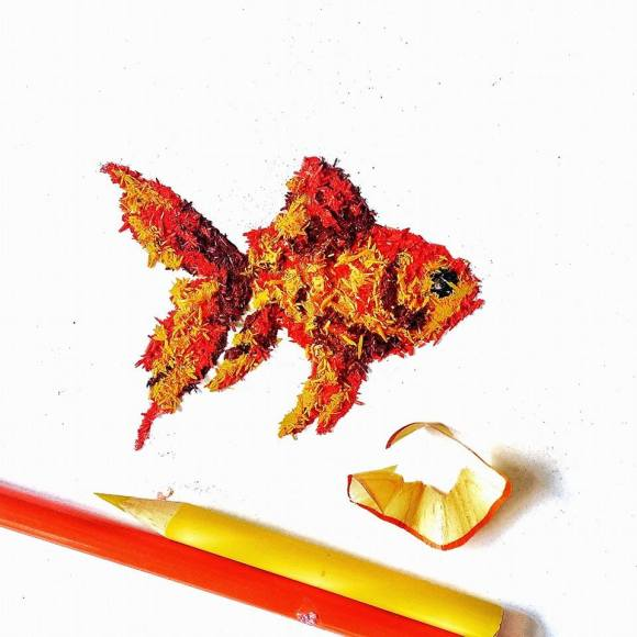Animais - lápis 7