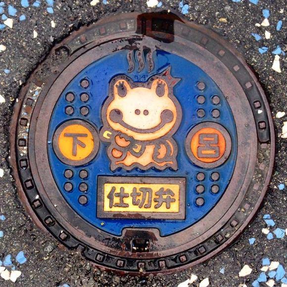 Bueiros no Japão 10