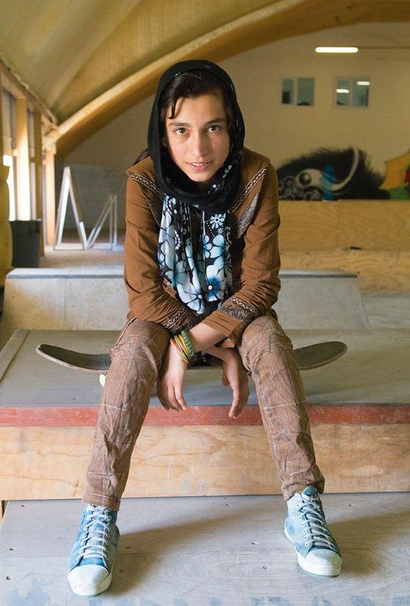 Garotas Skatistas Afeganistão 11