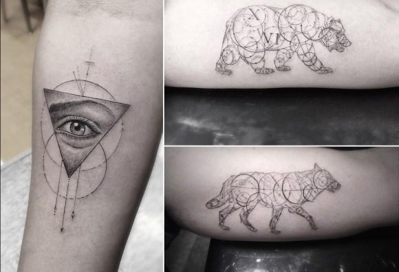 Tatuagem geométrica 4