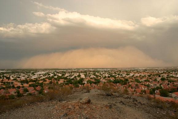 Tempestade de areia 10