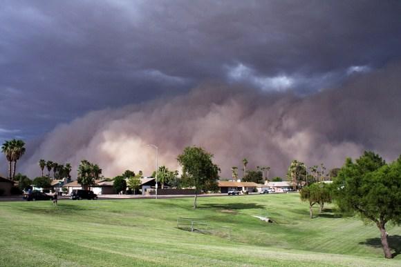 Tempestade de areia 13