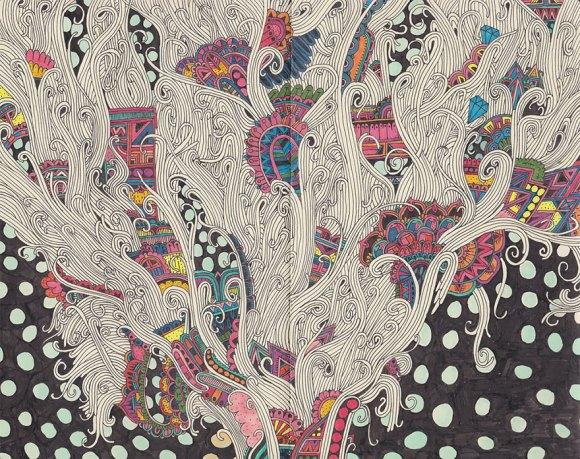 Desenhos detalhados e coloridos 4