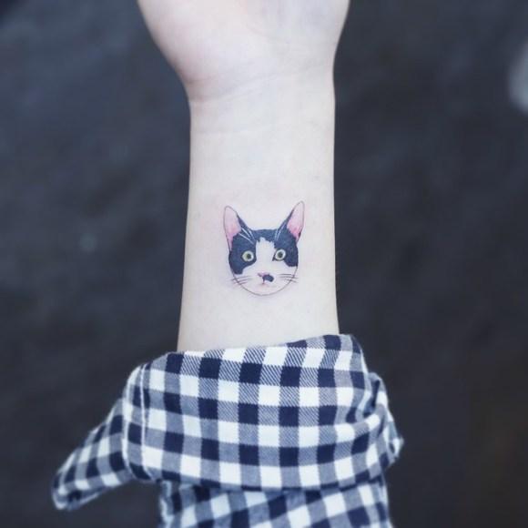 Tatuagens de gatos 4