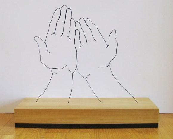 Esculturas de arame 11