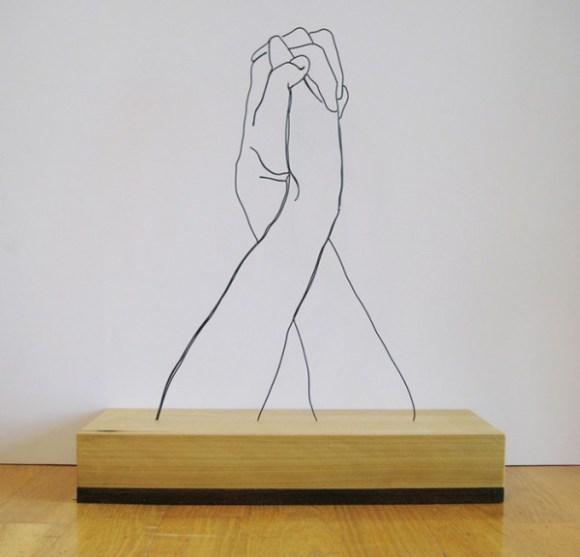 Esculturas de arame 5