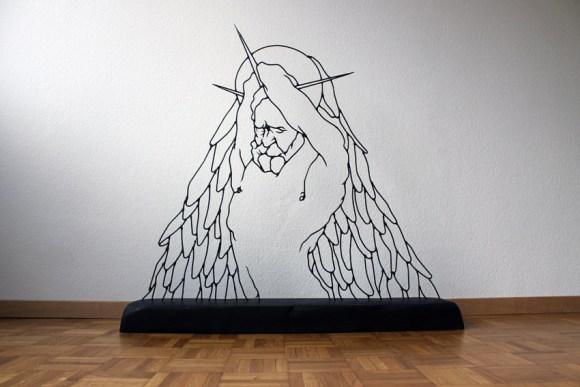 Esculturas de arame 7